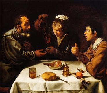 Velázquez - El almuerzo