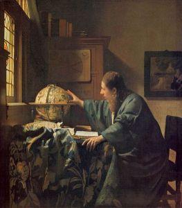 Vermeer - el astrónomo (1668)