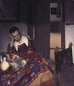 Vermeer - muchacha dormida (1657)