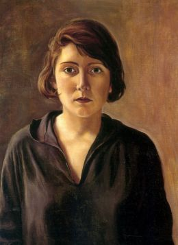 Angeles Santos - Autorretrato (1928)