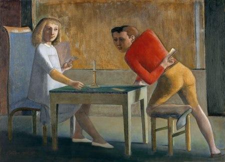 Balthus - la partida de naipes (1950) (02)