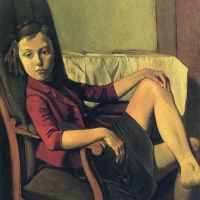 Therese soñando (Balthus, 1938)