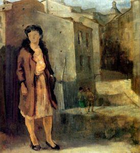Eduardo Vicente - Mujer al aire libre (1960)
