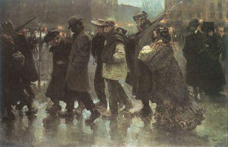 José María López Mezquita - cuerda de presos (1901)