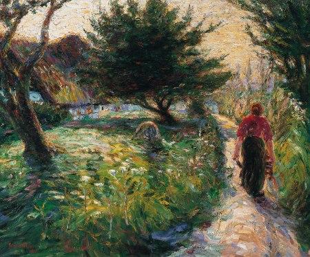 Nolde - tarde de verano (1903)