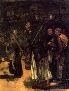 Solana - Máscaras de aldea (1913)
