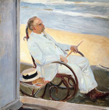 Sorolla - Antonio García en la playa (1909)