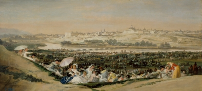 Goya - La pradera de San Isidro (1788)