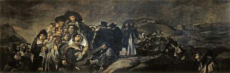 Goya - La romería de San Isidro (1823)