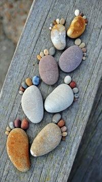 piedras que caminan