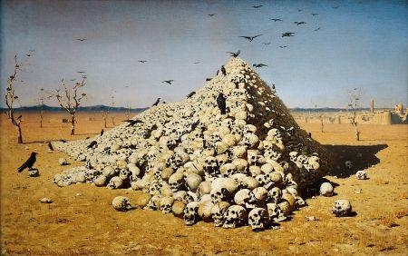 Vasily Vereshchagin - apoteosis de la guerra (1871)