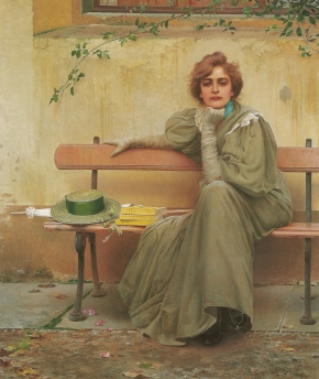 Vittorio Matteo Corcos - Sueños (1896)