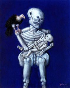 Botero - madre e hijo (2000)