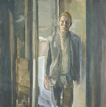 Michael Andrews - retrato de Timothy Behrens (1962)