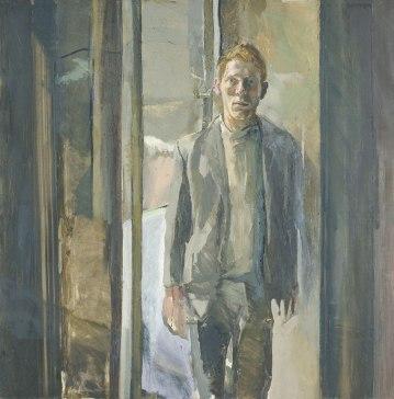 Michael Andrews - retrato de Timothy Behrens (1962)