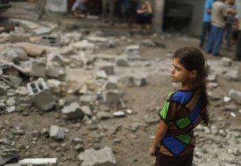 niña de gaza