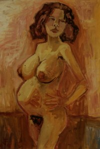 Otto Dix - embarazada (1966)