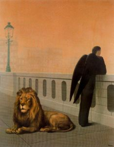Rene Magritte - la añoranza (1940)