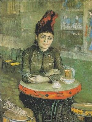 Van Gogh - agostina segatori sentada en el café du Tambourin (1887)
