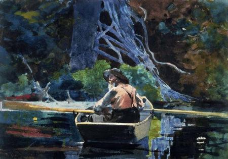 Winslow Homer - The Adirondack Guide (1892)