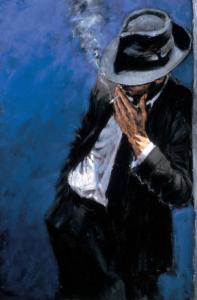 fabian perez - man in black suit (2002)