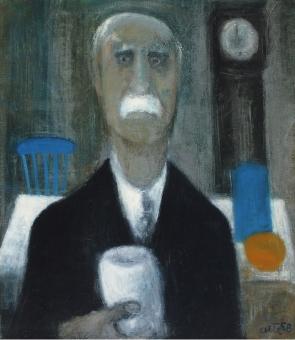 Albert Bertelsen - hombre con tarro