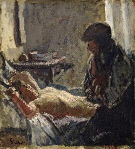 Walter Sickert - El asesinato de Camden Town (1909) (02)