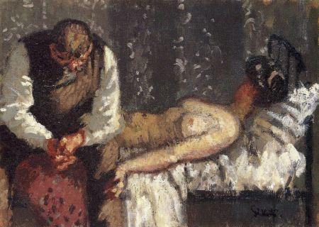 Walter Sickert - El asesinato de Camden Town, o ¿Qué vamos a hacer por el alquiler (1908)