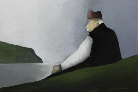 Albert Bertelsen - Islas Feroe campesino