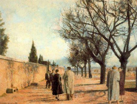 Antonio Lopez - Paseo del cementerio