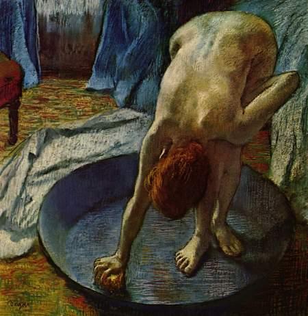 Degas - la tina (1886)