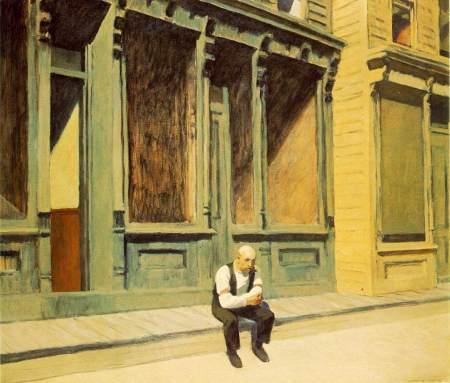Edward Hopper - domingo (1926)