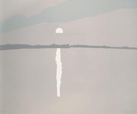 Alex Katz - Sunset - Lake Wesserunsett 2 (1972)