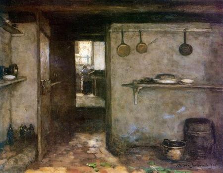 Johan Hendrik Weissenbruch - Cellar interior