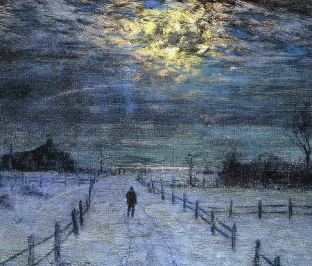 Lowell Birge Harrison - A Wintry Walk