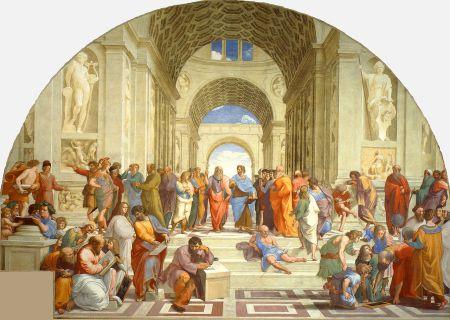 Rafael - La escuela de Atenas (1512)