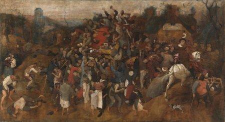 Brueghel - el vino de la fiesta de San Martin (1568)