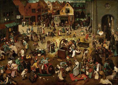 Brueghel - riña entre Carnaval y Cuaresma (1559)