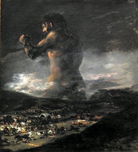 Goya - El coloso (1812)
