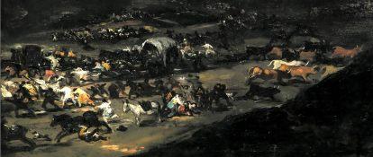 Goya - El coloso (detalle 02)