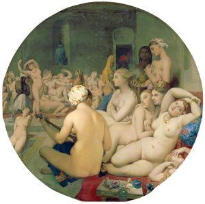 Ingres - el baño turco (1862)
