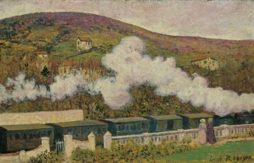 Dario Regoyos - el paso del tren (1902)