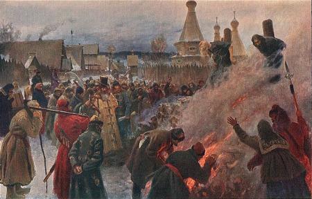 Grigoriy Myasoyedov - Avvakum by Myasoyedov (1897)
