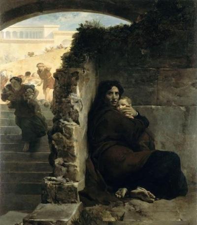 León Cogniet - Masacre de los inocentes (1824)