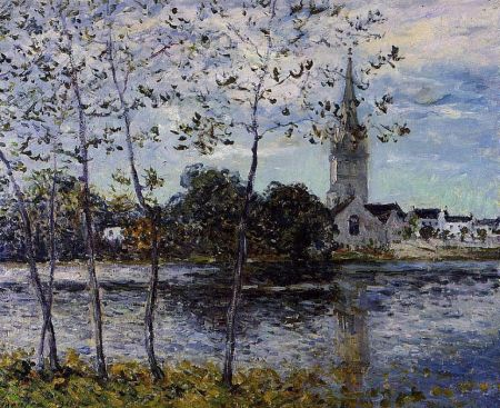 Maxime Maufra - The Banks of the Pond at Rosporden (1911)