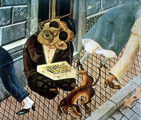 Otto Dix - El vendedor de fósforos (1921)
