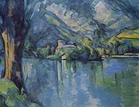 cezanne-el-lago-azul-1896