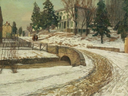 edward-willis-redfield-the-white-house-1909