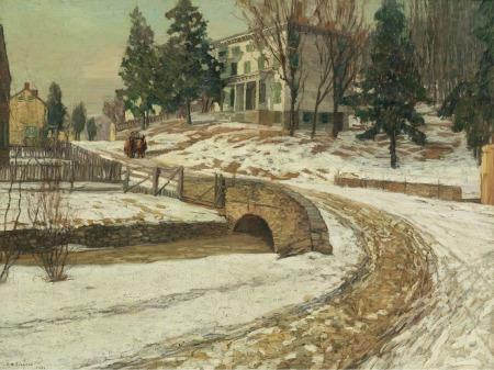 edward-willis-redfield-the-white-house-1909