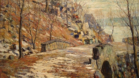ernest-lawson-a-road-by-the-palisades-1911